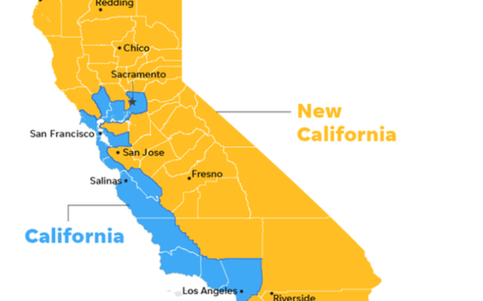 New California declares 'independence' from California in bid to become 51st American state