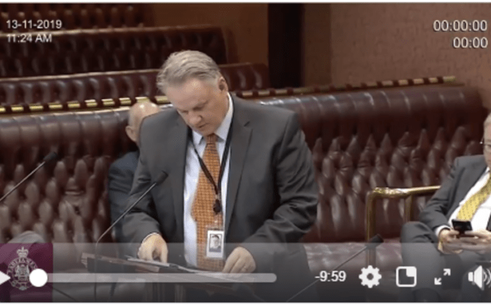 The Honourable Mark Latham Calls for N.S.W. to Withdraw from the Basin Plan (Video).