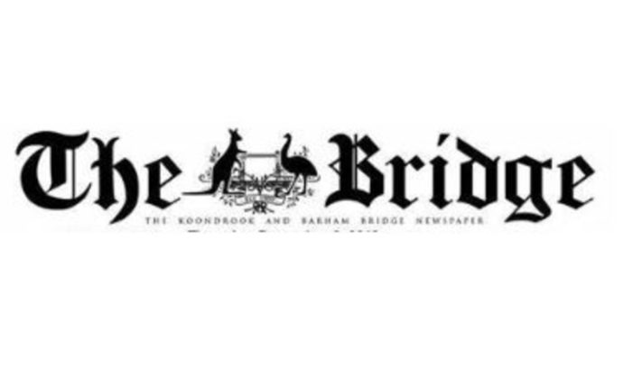 The State of Play: Lloyd Polkinghorne: Editor of The Koondrook and Barham Bridge (20/2/20)