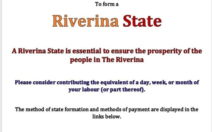 Riverina State Appeal