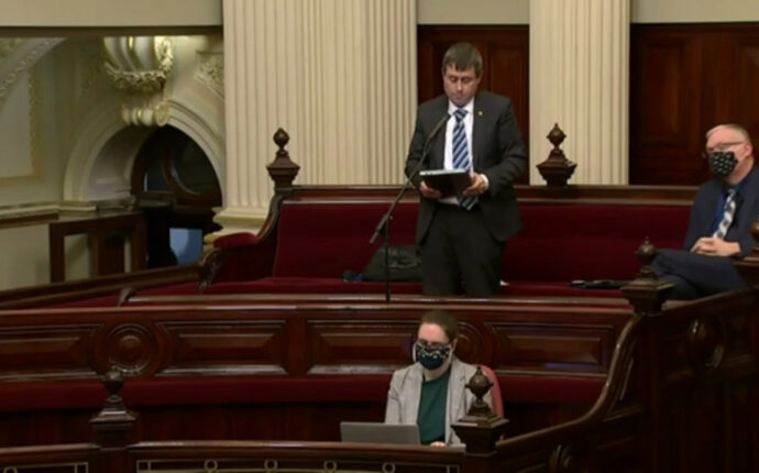 Tim Quilty (MLC Victoria) calls for the formation of a Riverina/Murray State (Video).