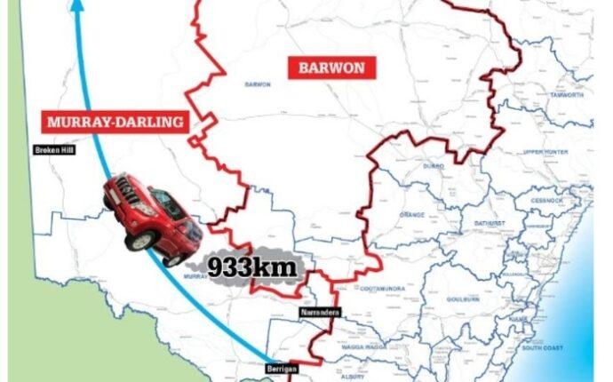 Barwon and Murray Electorates to increase in size – Again!