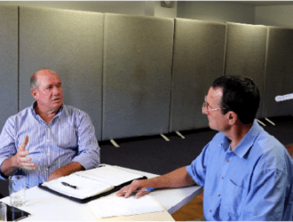 """Chris Brooks ( Southern Riverina Irrigators Chairman) Interview. """"Don't ever give up""""."""