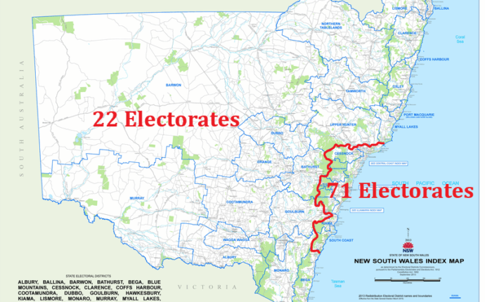 Area limits on electorates are essential for representative government