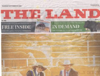 The Riverina State mentioned in 'The Land'.
