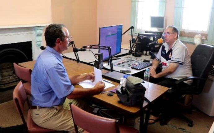 2 Hay FM Radio interview discussing the need for a Riverina State, and the upcoming Hay meeting.