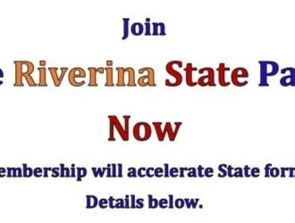 Join The Riverina State Party – Now.