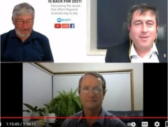 Discussion with Bill Bates (North Queensland State), Tim Quilty (MLC Victoria) and David Landini (video).