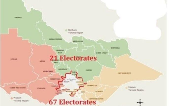 No Loss of Country Electorates in Victoria.