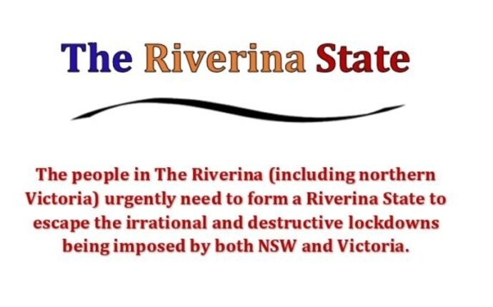 Statehood is required to escape the irrational lock downs imposed by NSW and Vic.
